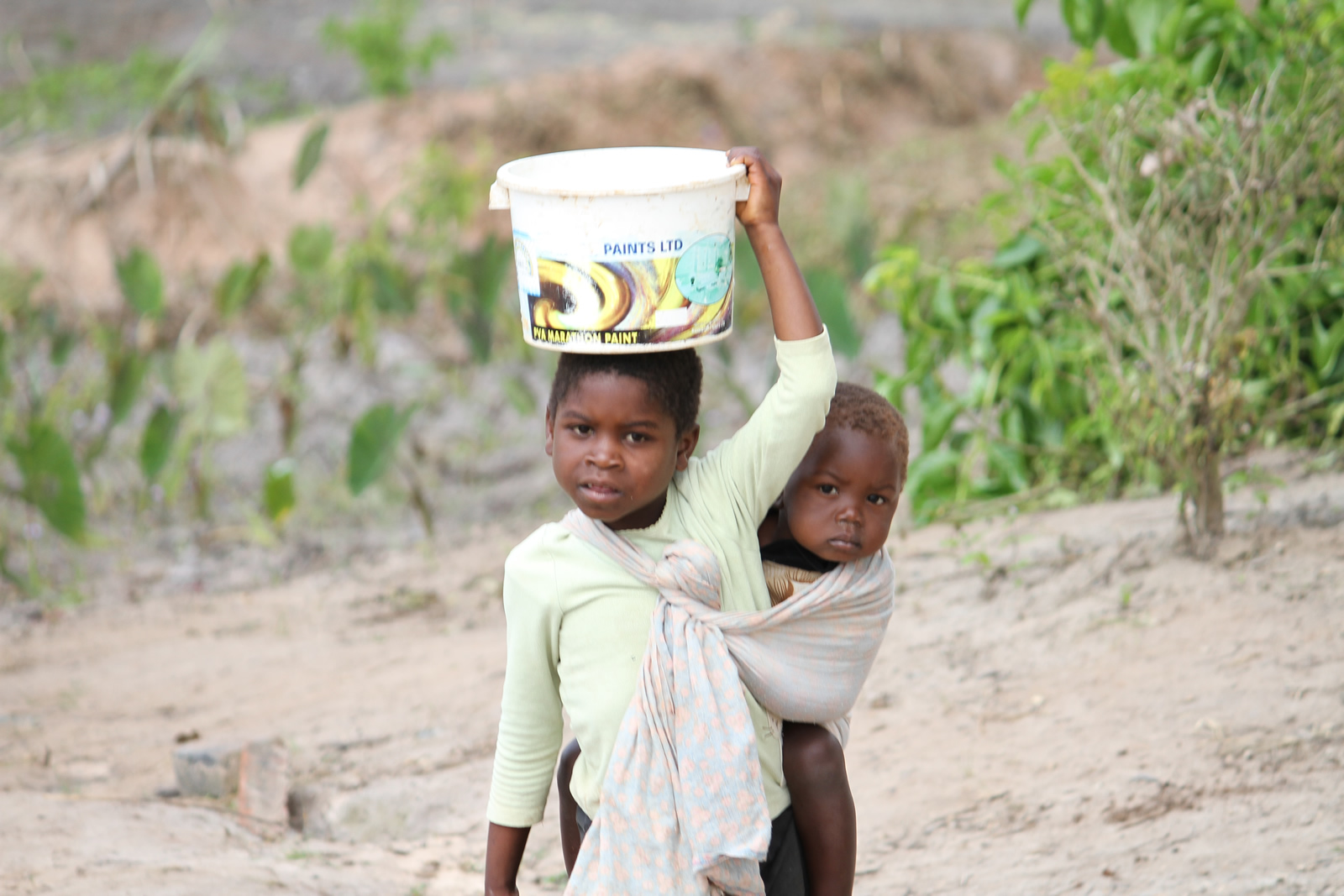 Girls forever Carrying Water