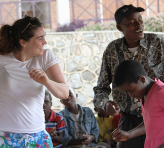 Tessa Fleming volunteering in Malawi