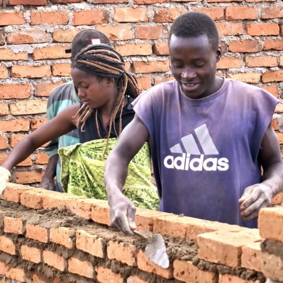 Alepha brick laying