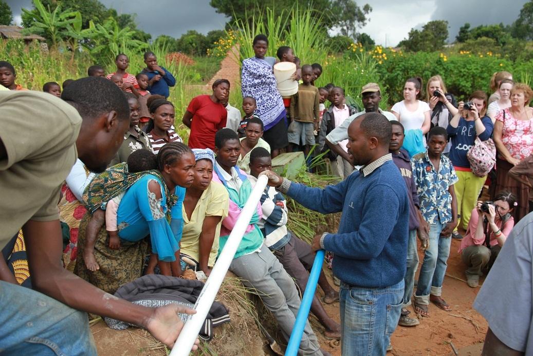 Harisen's pump demonstration