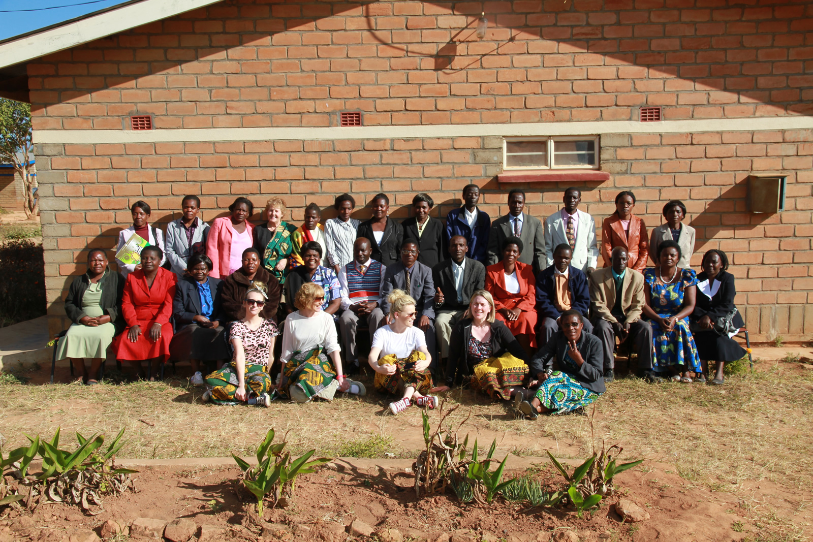 teachers with in-service Malawian teachers