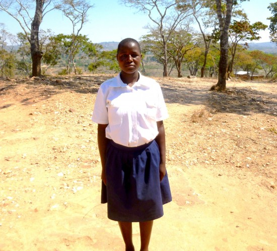 Supporting the girlchild - Agness Khonje
