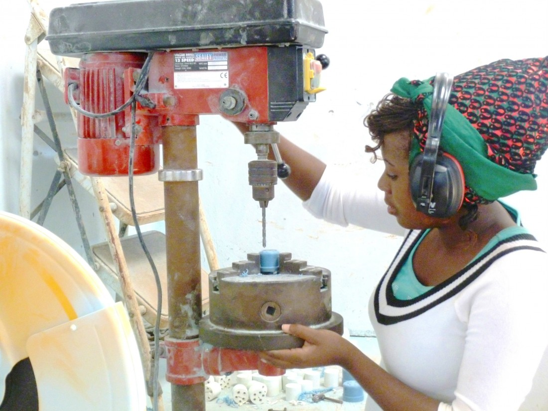 Alepher Banda, our boss in Malawi