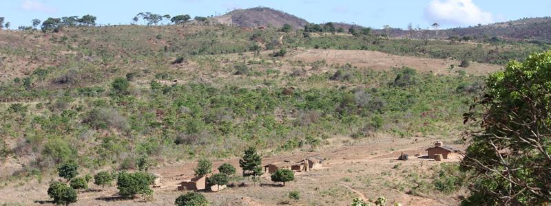 barren landscape of Chitipa