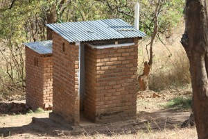 toilets of school in Chitipa