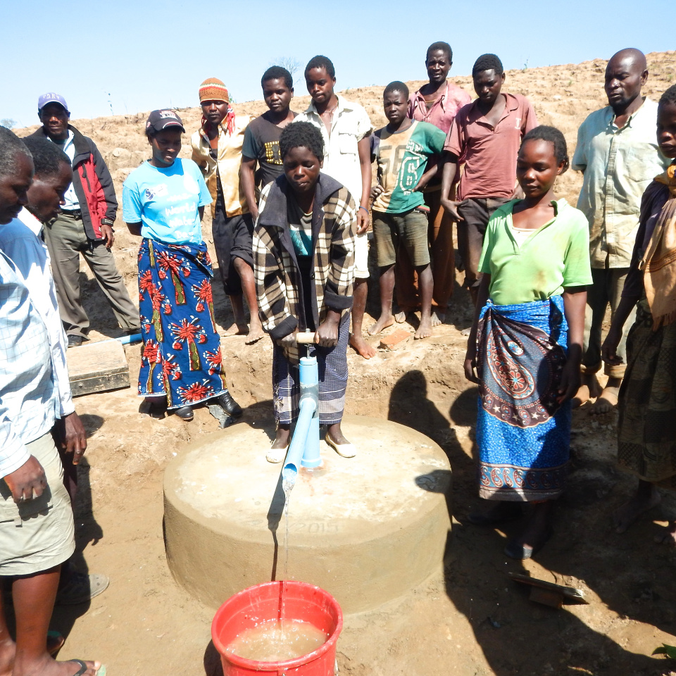 how to clean water wells