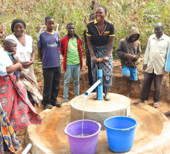 Clean water for villagers