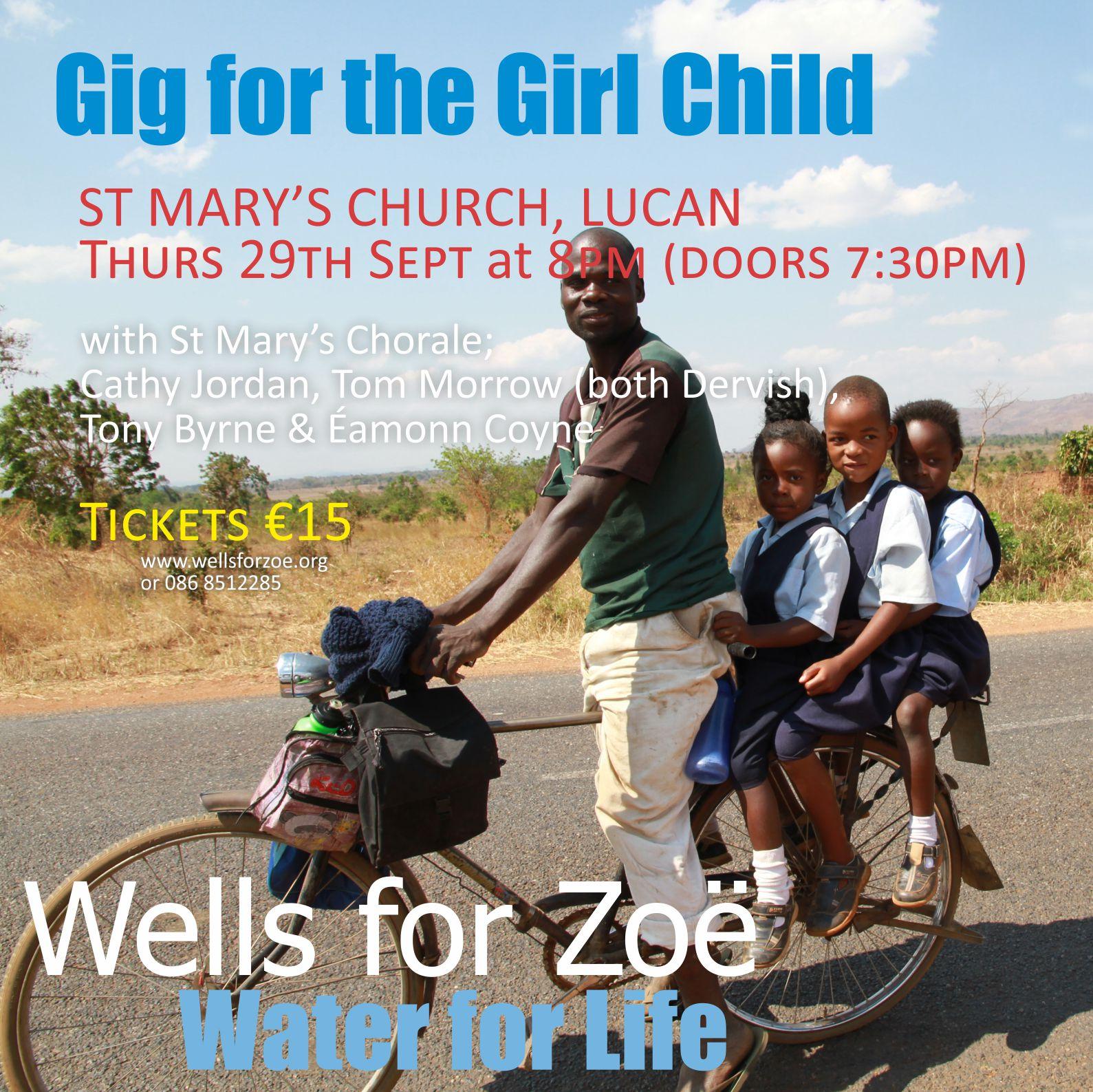 Girl Child Gig poster