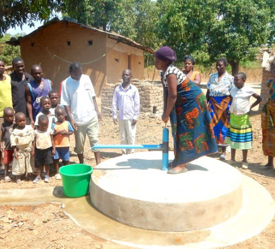 Clean, safe drinking water