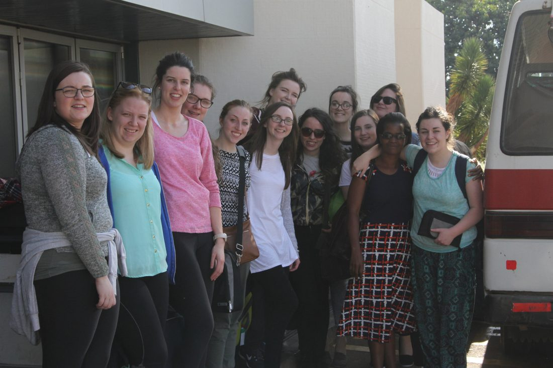 Mary I students arrival in Lilongwe June 2016
