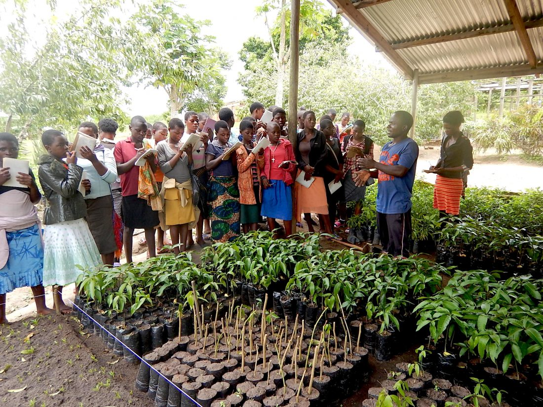 Girl Child horticulture education
