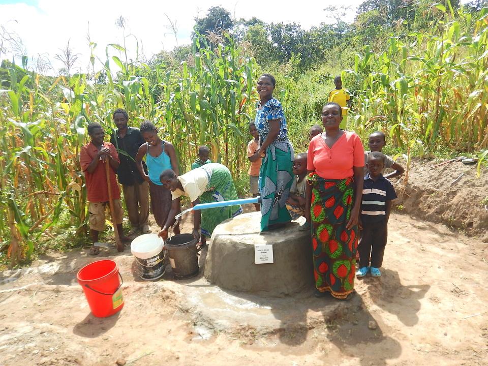 Wells for Zoë new pump installation
