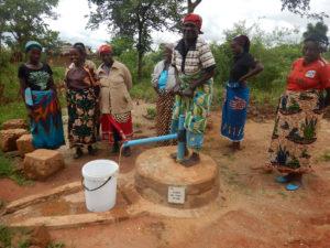 Communities driving their own development – pump installation