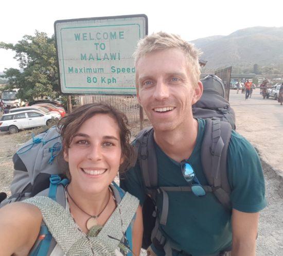 Cristina & Kevin arrive in Malawi