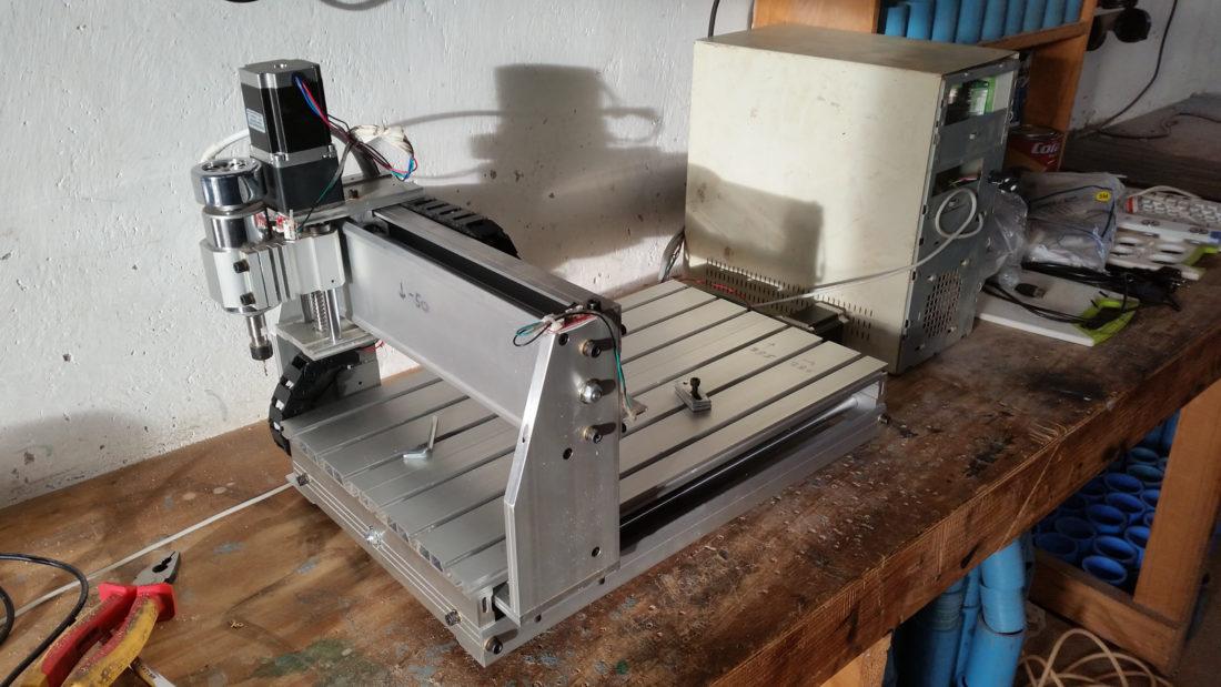 CNC machine in workshop
