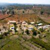 Aerial Lusangazi closer