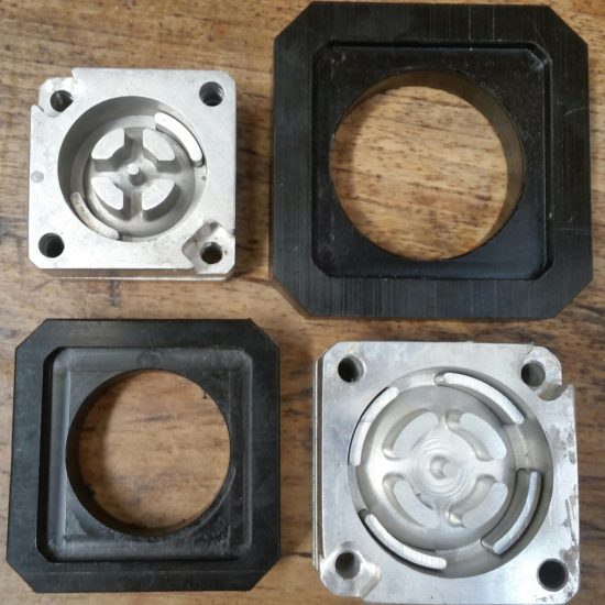 Zoë pump valve moulds
