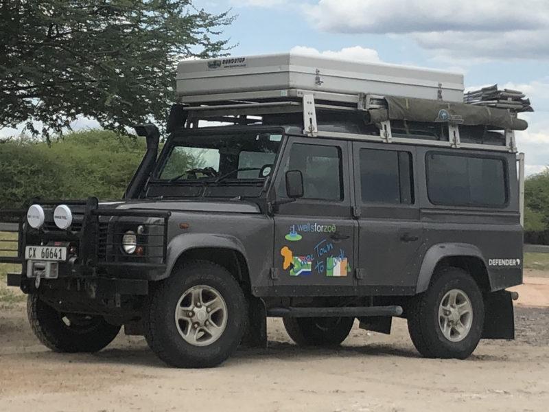 Mel's Land Rover Defender