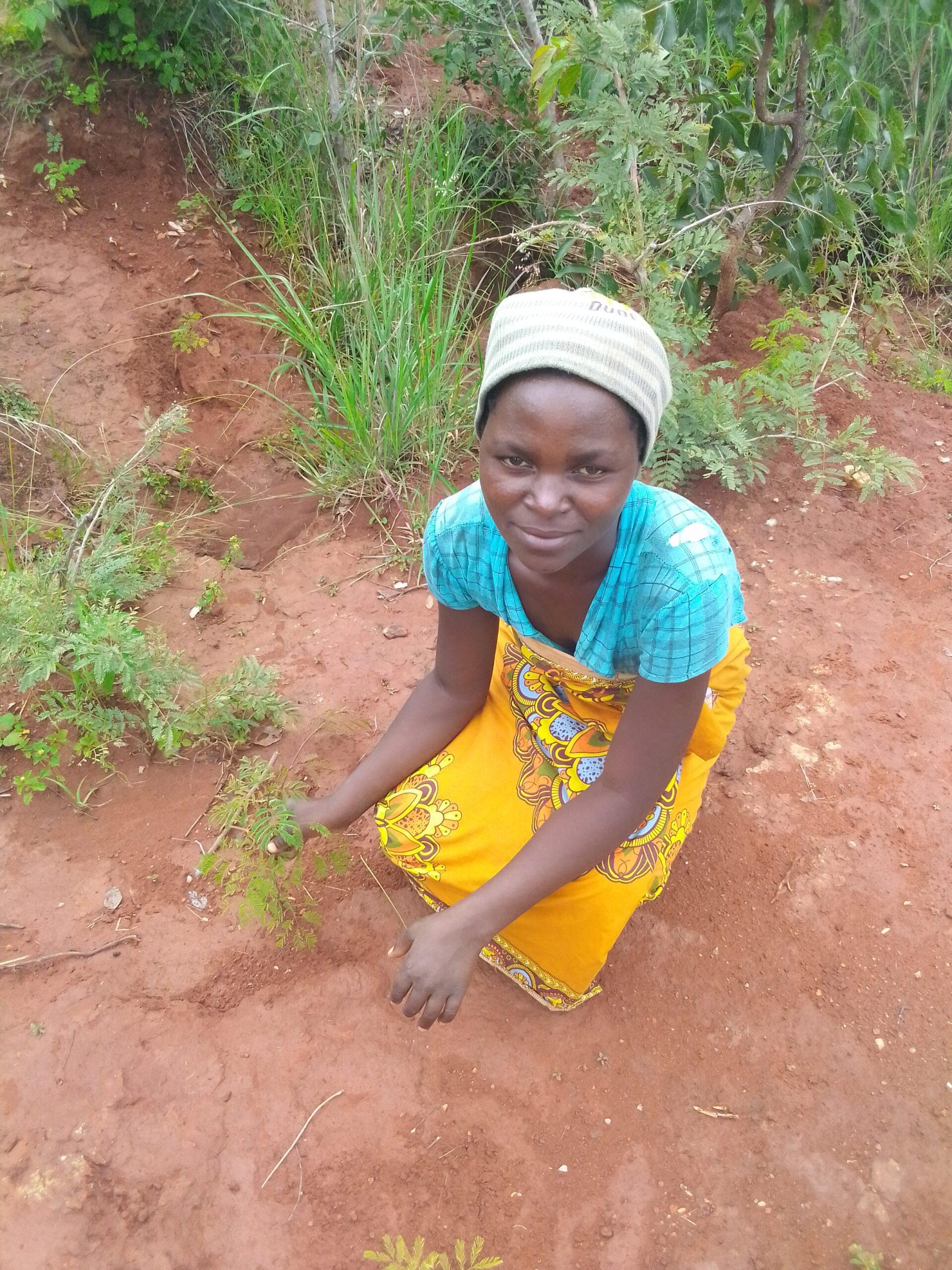 Cecilia Nkosi; indigenous tree planter Enyezini
