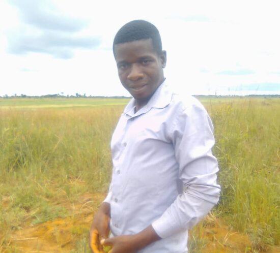 Clement Tchuma; Kasera indigenous tree planter