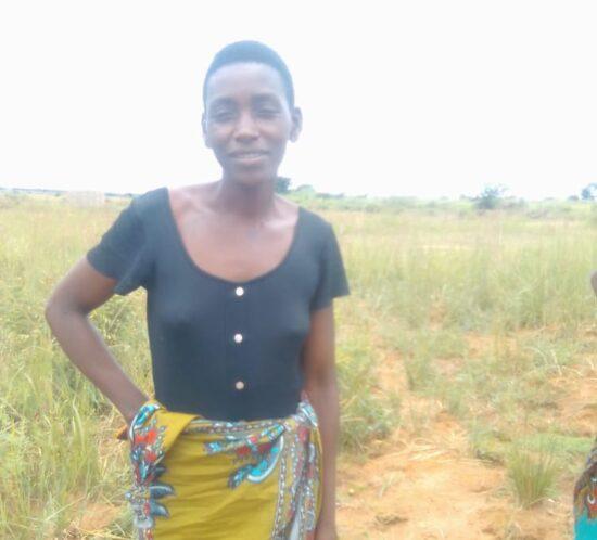 Grace Nyirenda; Kasera indigenous tree planter