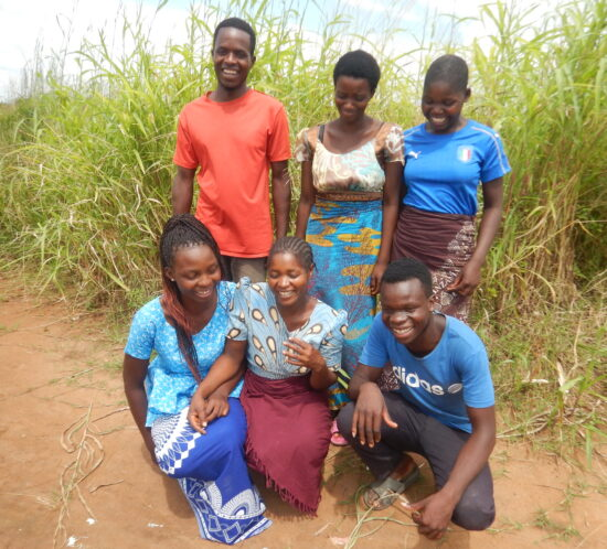 some of the Kasera youth planting group