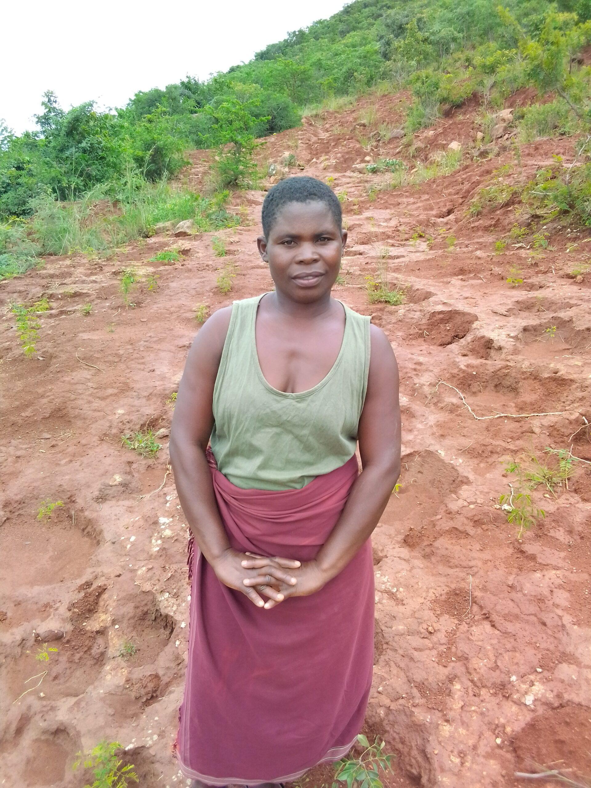 Margret Jere; Enyezini indigenous tree planter