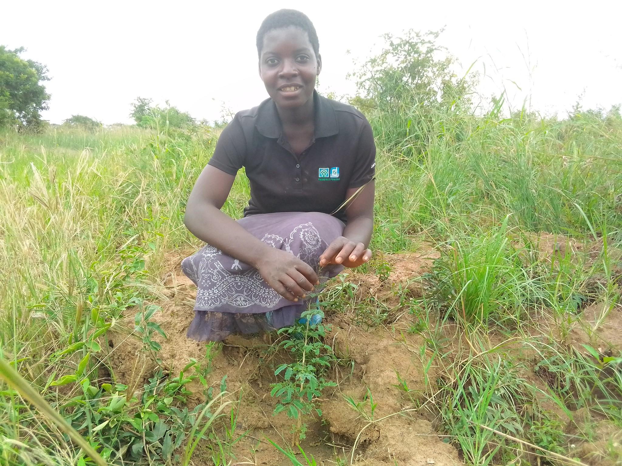 Alinafe Kosamu Kasera planter