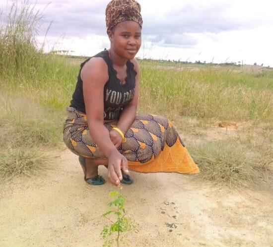 Esnart Chimutse Kasera planter