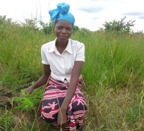 Lolina Simiyoni Kasera planter