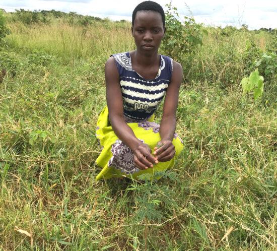 Mercy Banda Kasera planter